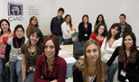 "Orientation at Sapienza ""Ciao"" office gives students advice,  <br />information and orientation"